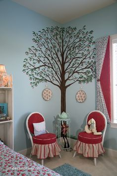 Corner wall tree...I've been trying to find a place to put for a corner tree in my house for 5 years!