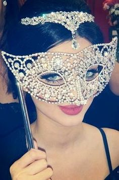 Masquerade mask for a masquerade ball