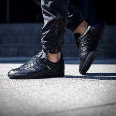 Sneakersy adidas gazelle męskie czarno białe skórzane BB5476 ▷ Sklep Sizeer