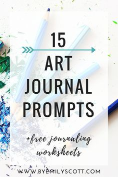 How do you use your art journal? You can 1) use it as a scrapbook 2) use it for daily journaling + doodles and pictures, 3) save letters and thank you notes. +15 prompts to get you started with your art journal. CLICK THROUGH TO KEEP READING