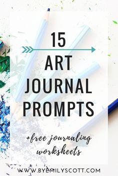 15 Art Journal Prompts
