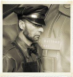 https://flic.kr/p/SpvnBq | leather bellhop | could be an old milkmenuniform too ...