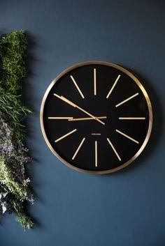 KITCHEN WALL CLOCK (http://www.rockettstgeorge.co.uk/black--brass-wall-clock-56067-p.asp?platform=hootsuite)