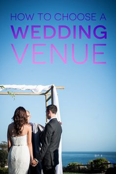 Breaking down the biggest first step of wedding planning: how to choose a wedding venue.