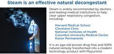 Mypurmist 2 - handheld ultrapure steam inhaler Decongestant, Harvard Medical School, Cleveland Clinic, National Institutes Of Health, Drug Free, Medical Center, Natural Remedies, Drugs, Natural Home Remedies