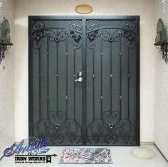 Cappella Iron Security Screen Door - FD0036A