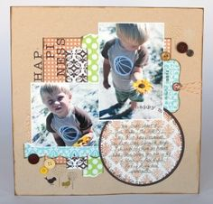 Lily Bee Lovely | Mid Week Mojo #scrapbooking #layouts #crafts