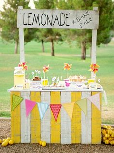 Perfect little buffet for the kids.  #dssummerparty #designsponge