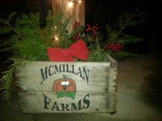 Christmas 2012 decorations at McMillan Farms. Farms, Decorations, Christmas Ornaments, Holiday Decor, Home Decor, Homesteads, Decoration Home, Room Decor, Dekoration