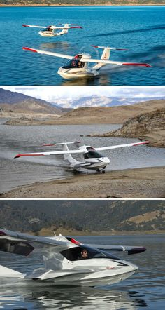 These two-seater personal seaplanes are taking over the sky - tessa Private Plane, Private Jet, Amphibious Aircraft, Amphibious Vehicle, Light Sport Aircraft, Flying Vehicles, Float Plane, Naval, Flying Car