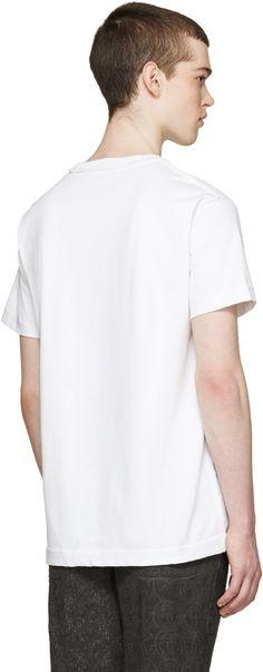 Telfar - White Logo Pocket T-Shirt