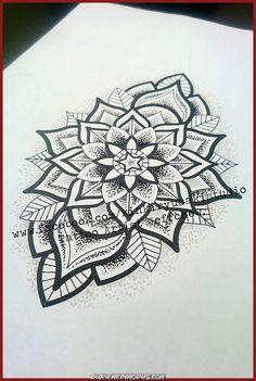 Mandala tattoo, tattoos и nape tattoo. Mandala Tattoo Design, Henna Tattoo Designs, Designs Mehndi, Body Art Tattoos, Sleeve Tattoos, Henna Tattoos, Hand Henna, Henna Hands, Henna Art