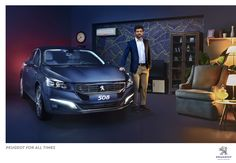 Peugeot: Peugeot for all times, 3  http://adsoftheworld.com/media/print/peugeot_peugeot_for_all_times_3