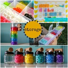 Rainbow Loom Storage and Organization