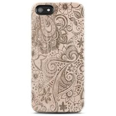 FLORAL Phone Case, Floral iPhone Case, Tan, Nude Color Beige Floral Vintage iPhone Case Floral iPhone 4 Case Floral iPhone 5 Case Cream Lace