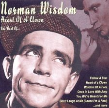 NORMAN WISDOM - HEART OF A CLOWN-THE BEST OF NEW CD