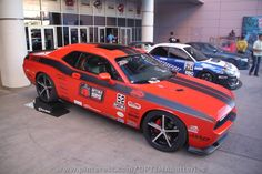 Brett Barrett's Dodge Challenger competed in the 2010 & 2011 OUSCI