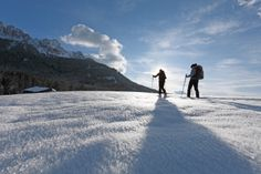 Winter in Welschnofen/Nova Levante - Südtirol/Alto Adige Roter Hahn/Gallo Rosso