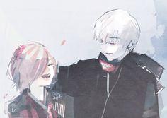 Olha a mãozinha do Kaneki no cabelo da Touka, OLHA A MÃOZINHA AAAHHHH to surtando,pq que o Ishida faz isso com o meu kokoro;--; </3 - Tokyo Ghoul