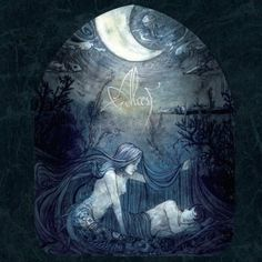 Alcest - Écailles de Lune #cover #art #design #metal #music #record #sleeve