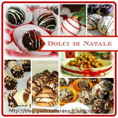 Dolci di Natale Christmas Dishes, Christmas Sweets, Christmas Time, Mini Desserts, Sweet Cakes, Antipasto, Food Gifts, Christmas Cookies, Sweet Treats