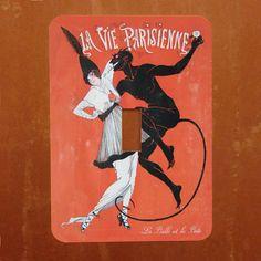 Bad Boyfriend  Vintage Demon  French Magazine Cover by Polkadotdog