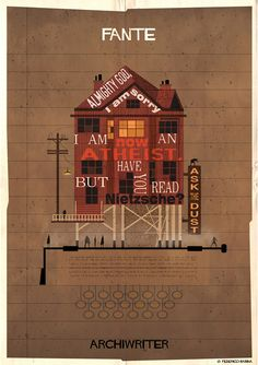 federico babina authors 27 graphics that envision literature as architecture