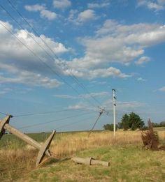 APE: cortes de energía por las tormentas