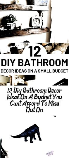 DIY Bathroom Decor Ideas That Can Be Made With Cheap Dollar Stores Items! This DIY Bathroom Decor Ideas That Can Be Made With Cheap Dollar Stores Items! This # home decor ideas diy<br> DIY Bathroom Decor Ideas That Can Be Made With Cheap Dollar Stores Items! This Easy Diy Room Decor, Diy Living Room Decor, Diy Bathroom Decor, Small Bathroom, Bathroom Ideas, Living Rooms, Kitchen Decor, Diy Store, Dollar Stores
