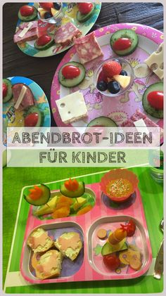Dinner for Abendessen für Kinder Dinner for children: we collect photos, ideas and recipes from our children& supper, which I like to serve on menu plates and sometimes as a lovely fun food decorated with bread, vegetables, fruits and other side dishes. Baby Food Recipes, Healthy Recipes, Homemade Baby Foods, Healthy Kids, Pina Colada, Food Art, Kids Meals, The Best, Good Food