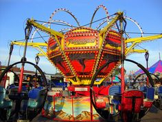 Carnival Rides | Tornado Carnival Ride. | Flickr - Photo Sharing!