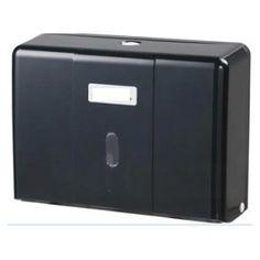 Hộp đựng giấy lau tay treo tường B727chất liệu nhựa ABS xanh đen dùng cho nhà vệ sinh phòng tắm khách sạn hay nhà hàng, sân bay, công cộng