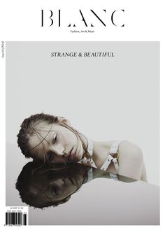 Blanc Magazine - Issue 3 Life is made of strange and beautiful moments. Fashion Photography Inspiration, Editorial Photography, Portrait Photography, Design Editorial, Editorial Fashion, Fashion Art, Paper Fashion, Mises En Page Design Graphique, Book And Magazine