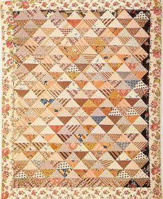 Civil War Quilts: 1862 Crib Quilt: D'OH!