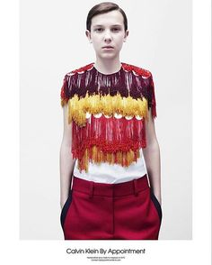 Millie Bobby Brown aka ELEVEN is the new face of Calvin Klein! It's not doubt that Raf Simon's first collection for Calvin Klein is one of fashion's most highly-anticipated debuts of the year but over the weekend the American fashion house released the first images of their Calvin Klein By Appointment campaign lensed by Willy Vanderperre and starring 12-year old Millie Bobby Brown (the enigmatic young actress who starred in Netflix Stranger Things). The By Appointment collection is a new…