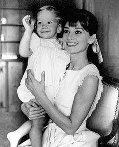 Audrey e Sean por Bud Fraker em Beverly Hills, 1961