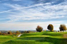 Golfplatz Bruchsal am Abend Golf Courses, Hiking Trails, Environment, Hiking, Photo Illustration