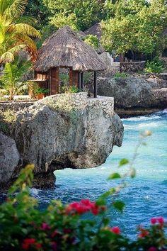 Rockhouse in Negril, Jamaica - Carribean -