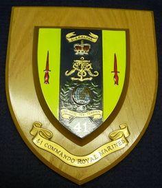 41 Commando Royal Marines Regimental Plaque