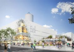 MVRDV Reveals Plans to Transform Part-Dieu Shopping Center in Lyon,© l'autre image