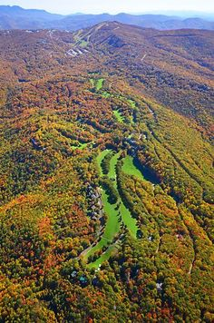 Beech Mountain Golf Course Some of the most beautiful golf courses and landscapes around the world.