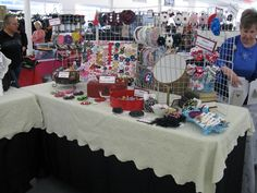 Troy Elf Shelf Craft Show Booth