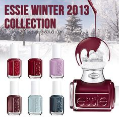 Essie Winter 2013 Shearling Darling Collection Nail Polish