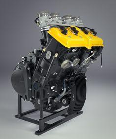 MV Agusta Brutale Motor, Engine made with Blender.