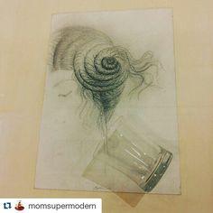 #Repost @momsupermodern  #mybiennaleRN #museodellacitta #omargalliani #lalineacontinua #deldisegno #drawing #art #artist #biennale #disegno #Rimini #vivorimini  #volgoitalia #loves_emiliaromagna #loves_rimini #ig_italy #igersrimini @biennaledisegno