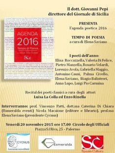 """""""TEMPO DI POESIA"""" a cura di Elena Saviano"""