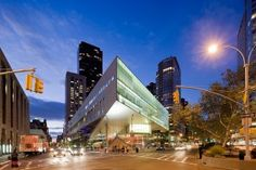 Alice Tully Hall is a part of the Lincoln Centre for the Performing Arts in NYC. It was created thanks to the donations of Alice Tully, a chamber music benefactor and patron of the arts. This is th…