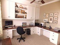 Office ** double desk layout