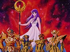 Athena e os Cavaleiros de Ouro