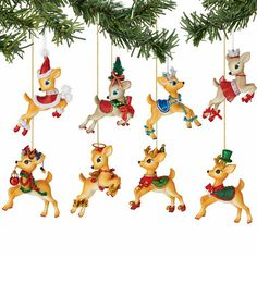 Another great find on #zulily! Jolly Reindeer Tales Ornament - Set of Eight #zulilyfinds